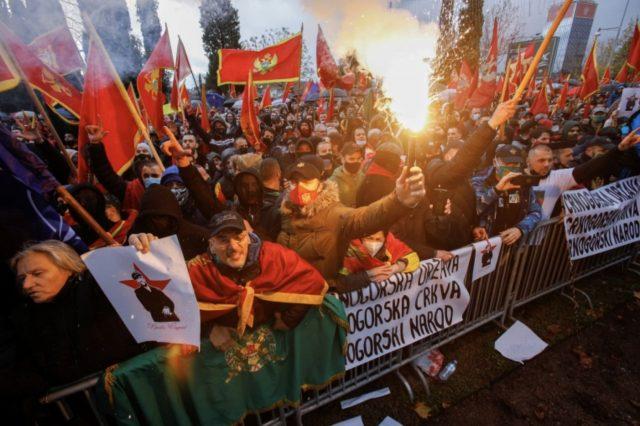 數千人抗議新黑山政府不願改變宗教法