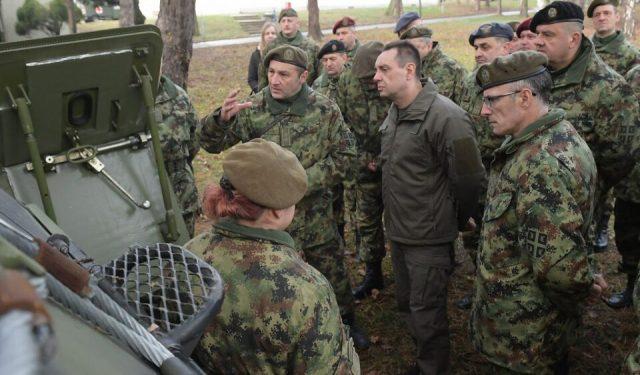 由於暫停軍事演習,塞爾維亞沒有2021年的軍事活動計劃?