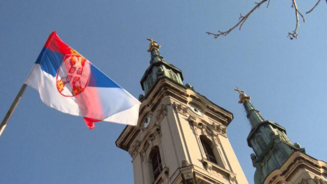 塞爾維亞東正教教堂慶祝耶穌受難日